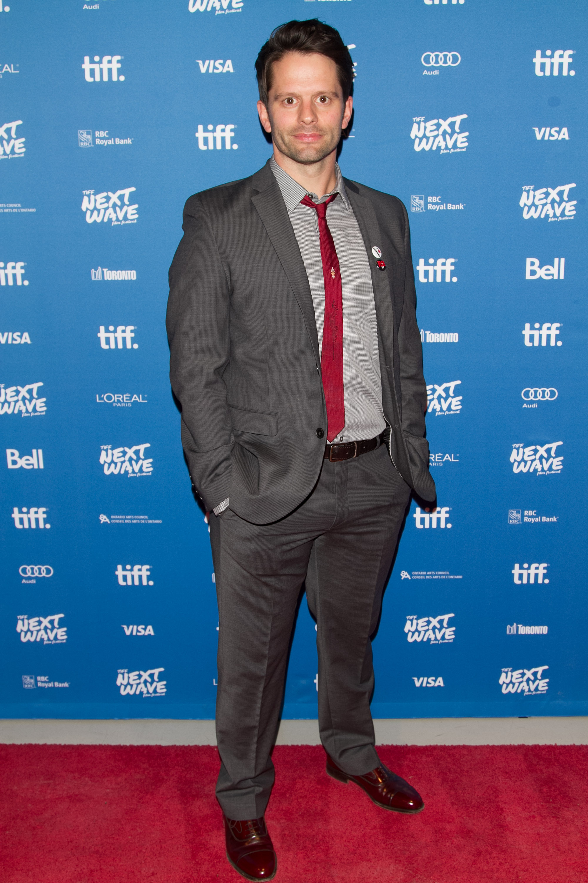 Tim Doiron (Actor/Writer) at the North American Premiere of Dead Before Dawn 3D.  TIFF Next Wave Film Festival.  Photo by: Sarjoun Faour, WireImage/Getty for TIFF