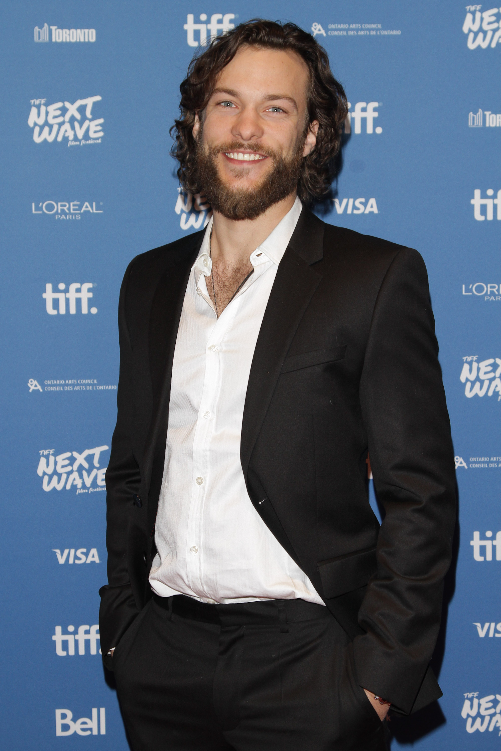 Kyle Schmid at the TIFF Next Wave Film Festival for Dead Before Dawn 3D's North American Premiere.  Photo by: Sarjoun Faour, WireImage/Getty for TIFF